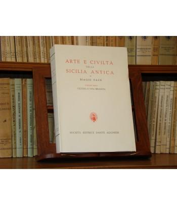 PACE B., Arte e storia della Sicilia Antica - Vol. III