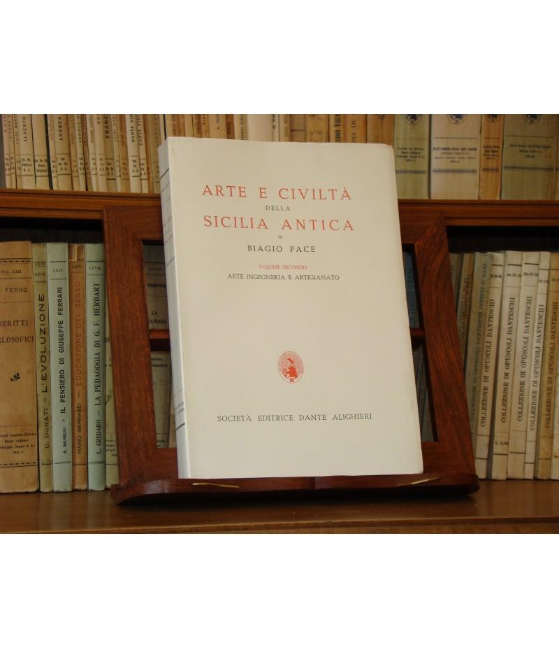 PACE B., Arte e storia della Sicilia Antica - Vol. II