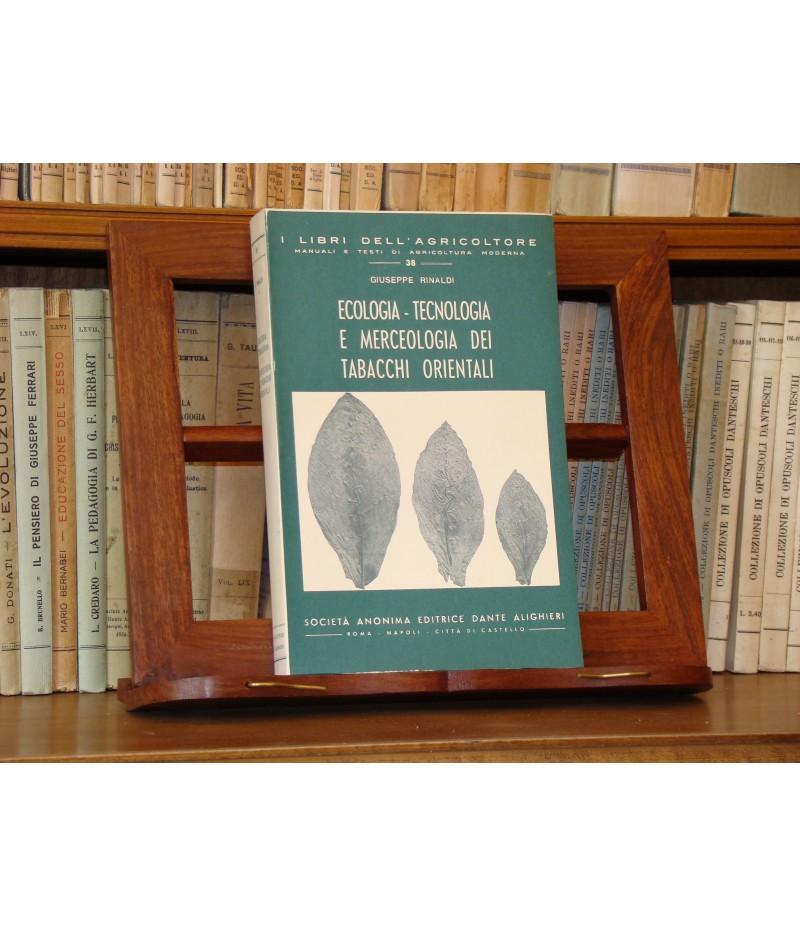 Rinaldi G. - Ecologia - tecnologia e..