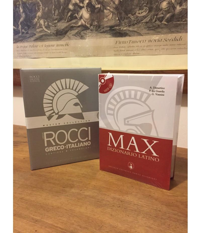 Vocabolario di greco Lorenzo Rocci + Roccino + Max
