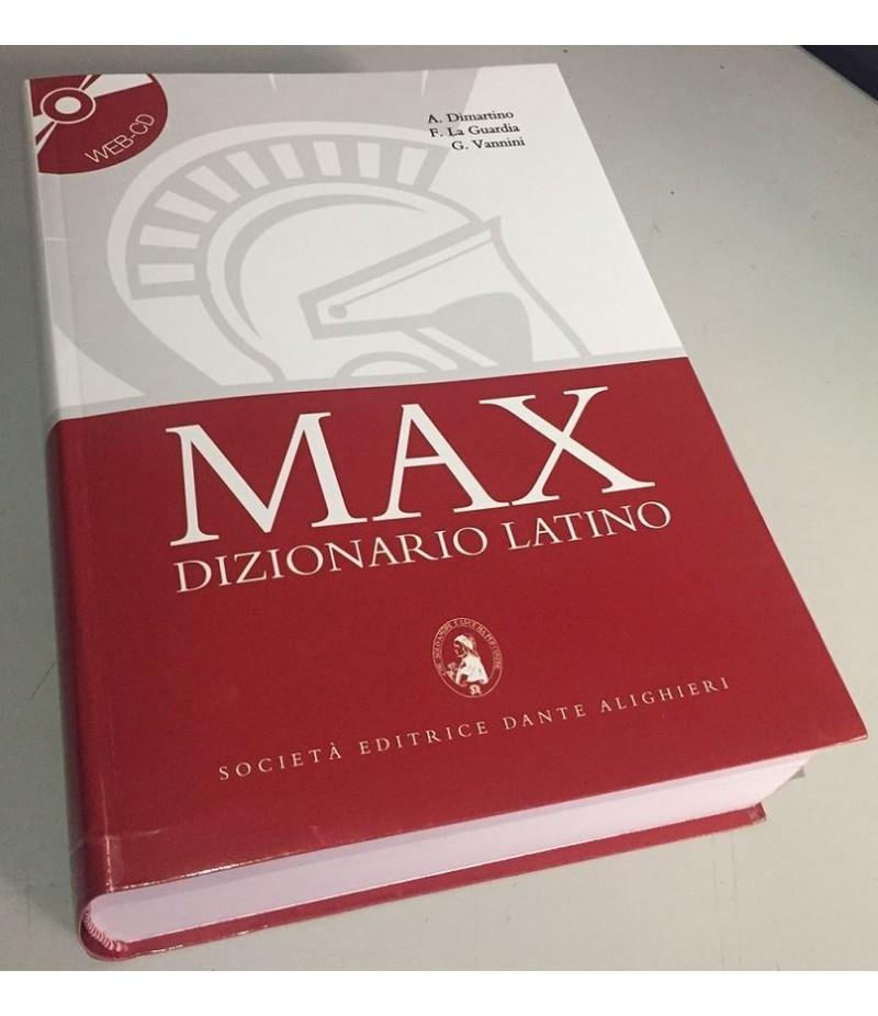 MAX VOCABOLARIO LATINO-ITALIANO-LATINO