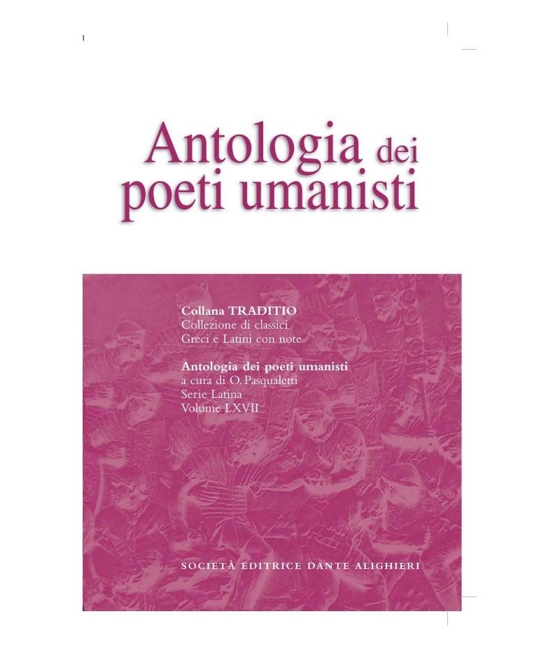 AA.VV. ANTOLOGIA DEI POETI UMANISTI a cura di O. Pasqualetti