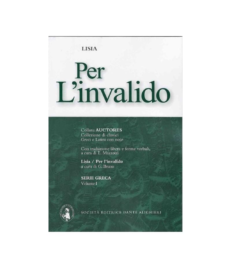 Lisia PER L'INVALIDO a cura di G. Bruno