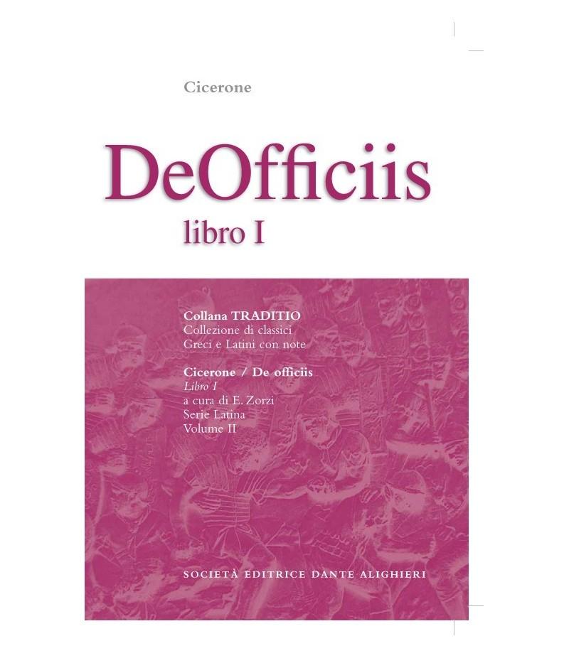 Cicerone DE OFFICIIS I a cura di E. Zorzi