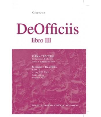 Cicerone DE OFFICIIS III a cura di E. Zorzi