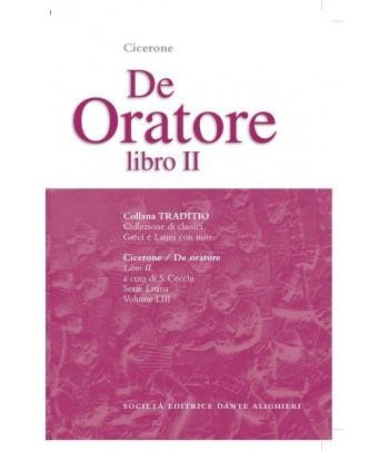 Cicerone DE ORATORE II a cura di S. Cecchi
