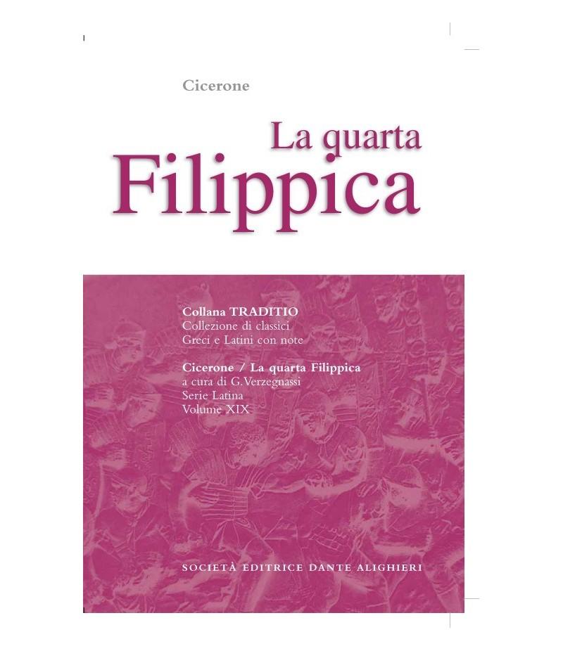 Cicerone FILIPPICA IV a cura di G. Verzegnassi