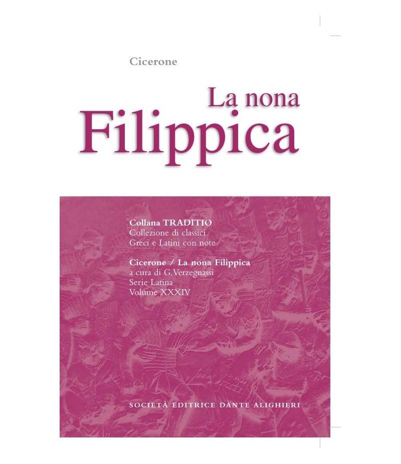 Cicerone FILIPPICA IX a cura di G. Verzegnassi