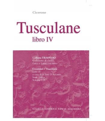 Cicerone TUSCULANE IV a cura di A. Izzo D'Accinni