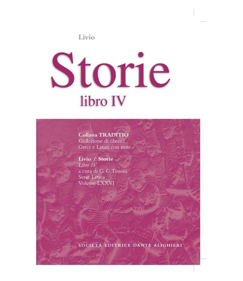Livio STORIE IV a cura di G. G. Tissoni