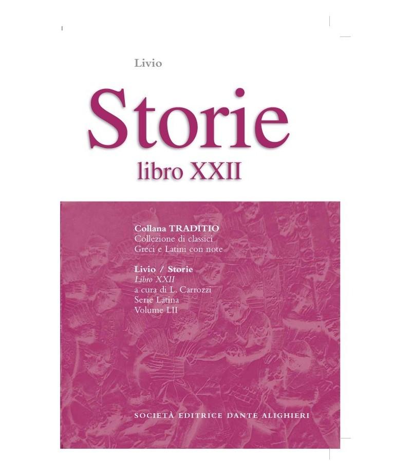 Livio STORIE XXII a cura di L. Carrozzi