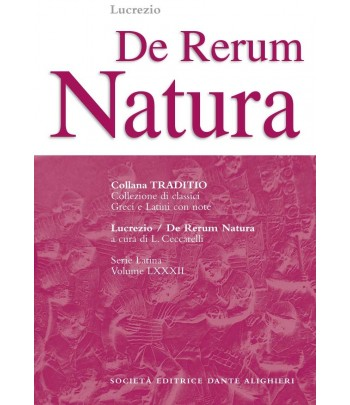 Lucrezio DE RERUM NATURA a cura di L. Ceccarelli