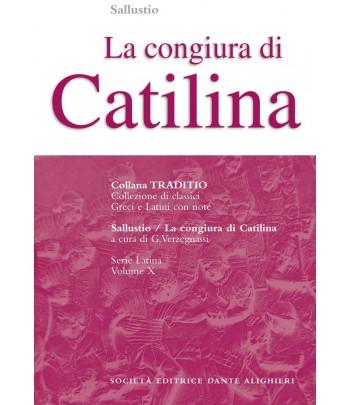 Sallustio LA CONGIURA DI CATILINA a cura di G. Verzegnassi