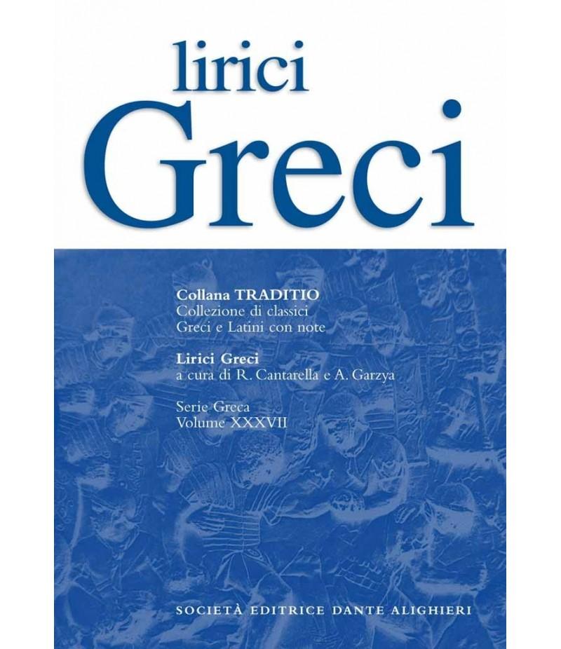 AA.VV. LIRICI GRECI a cura di R.Cantarella - A.Garzya