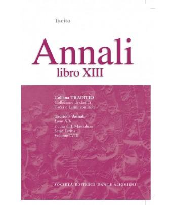 Tacito ANNALI XIII  a cura di F. Mascialino