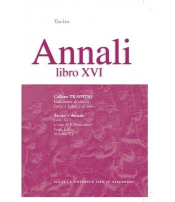 Tacito ANNALI XVI  a cura di F. Mascialino