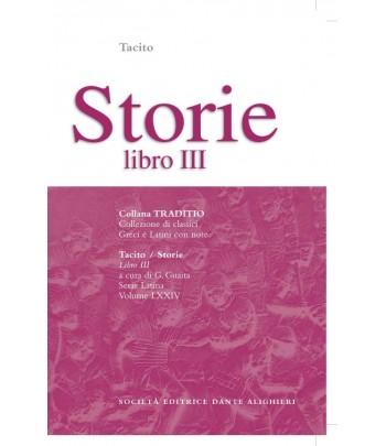 Tacito STORIE III a cura di G. Guaita