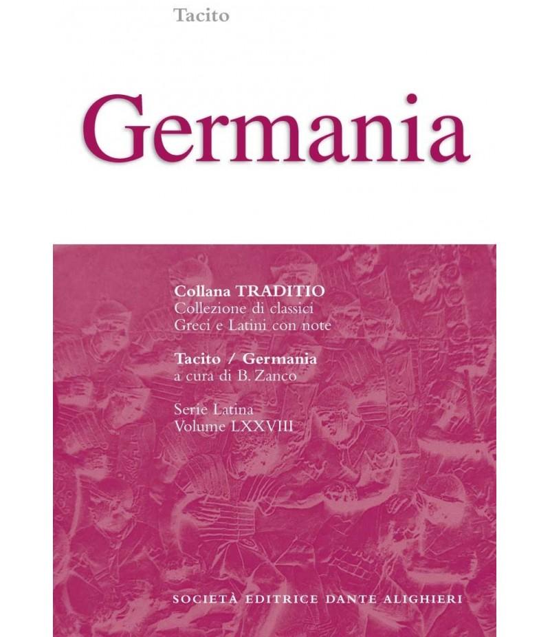 Tacito GERMANIA a cura di B. Zanco