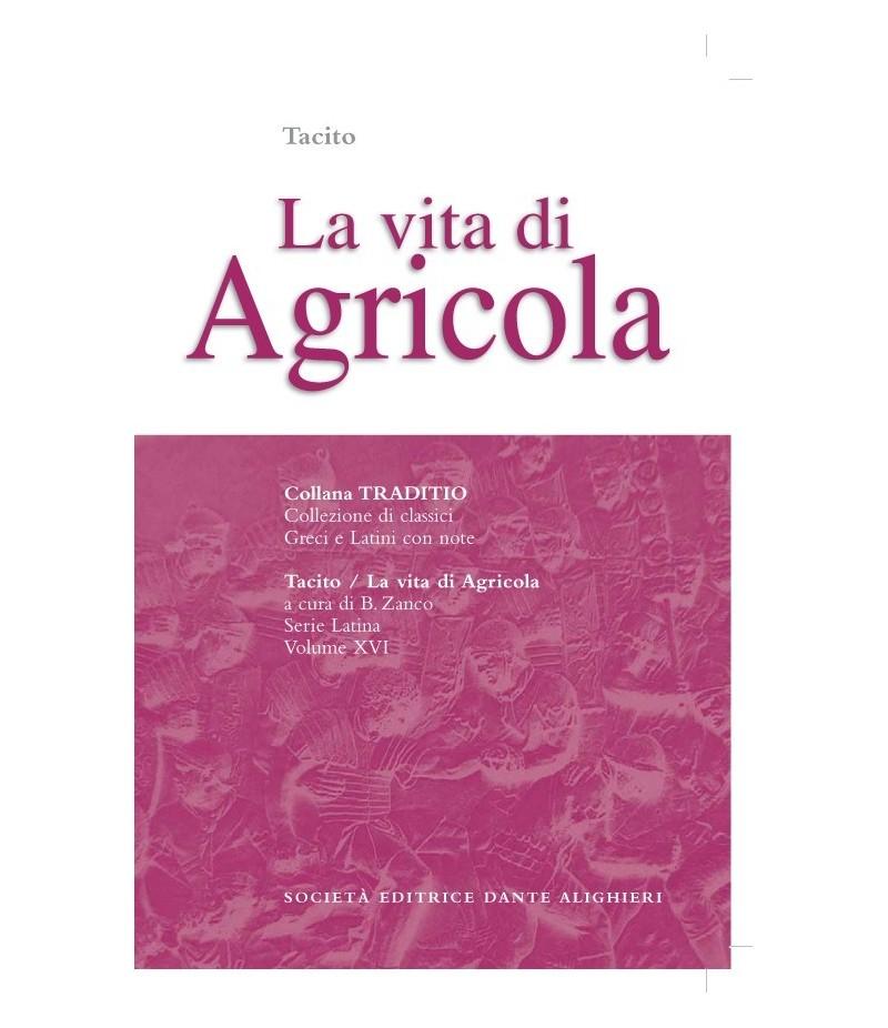 Tacito LA VITA DI AGRICOLA a cura di B. Zanco