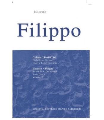 Isocrate FILIPPO a cura di R.De Nicolò