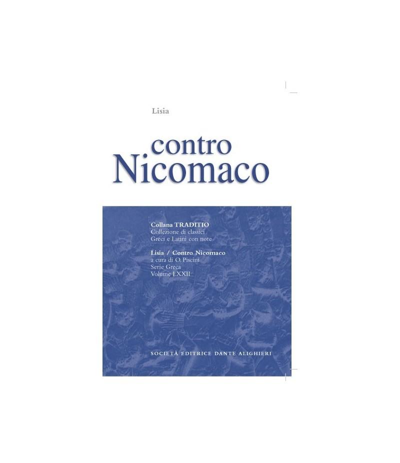 Lisia CONTRO NICOMACO a cura di O.Piscini