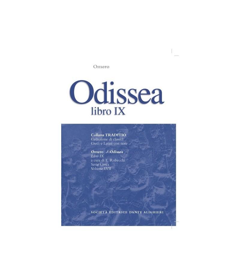 Omero ODISSEA libro IX a cura di F.Robecchi