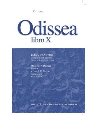 Omero ODISSEA libro X a cura di D.Baccini